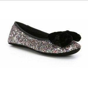 Kate spade glitter Sussex slippers
